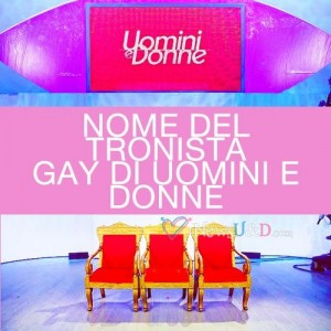 nome tronista gay