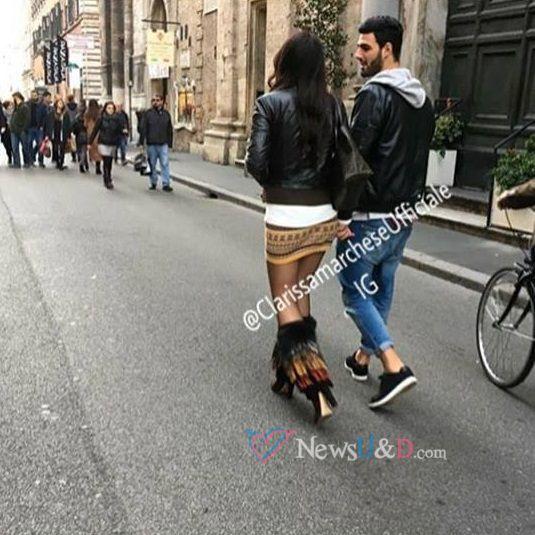 Clarissa e Federico Uomini e Donne dopo la scelta avvistati a Roma