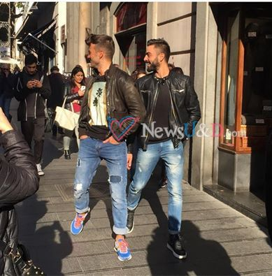 Claudio e Mario avvistati per l'ultima esterna a Napoli