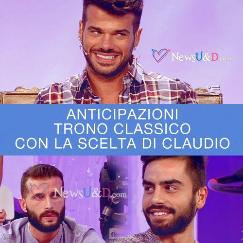 Anticipazioni Uomini e Donne: Scelta Claudio Sona e Riccardo registrata il 02-12-2016