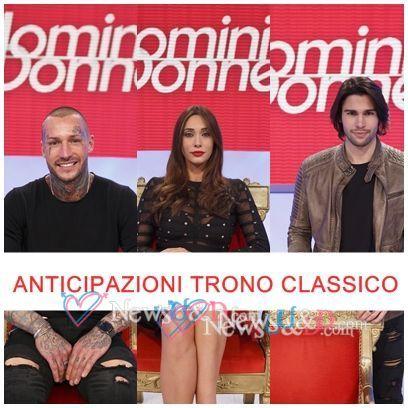 Anticipazioni Uomini e Donne: Trono Classico registrato il 05-01-2017 Ospiti Claudio, Mario, Riccardo, Camilla, Clarissa e Federico