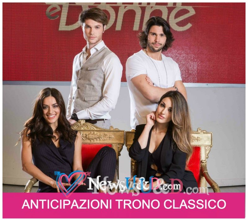 Anticipazioni Uomini e Donne Trono Classico registrato il 19-04-2017 Bacio tra Mattia e Desiree, Giulia sorprende Luca